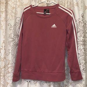 Adidas Mauve colored sweatshirt